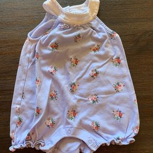 Janie and jack floral romper
